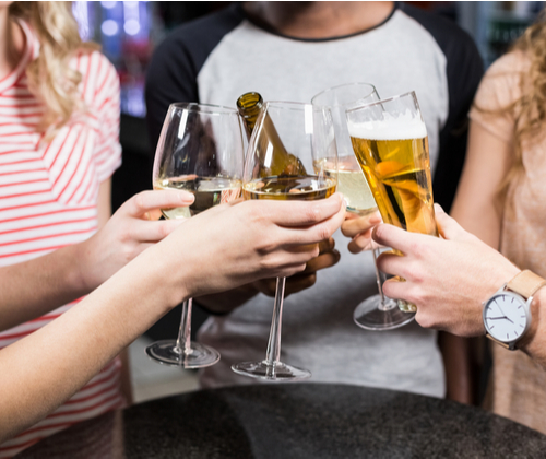 Wine or Beer Tasting for Two valued at £15.00 winning bidder