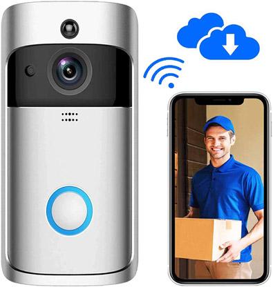 Wireless Video Door Bell valued at £49.99 winning bidder