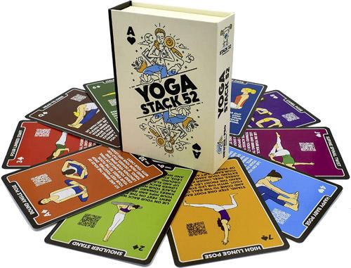 Stack 52 Yoga Exercise Cards valued at £15.97 winning bidder